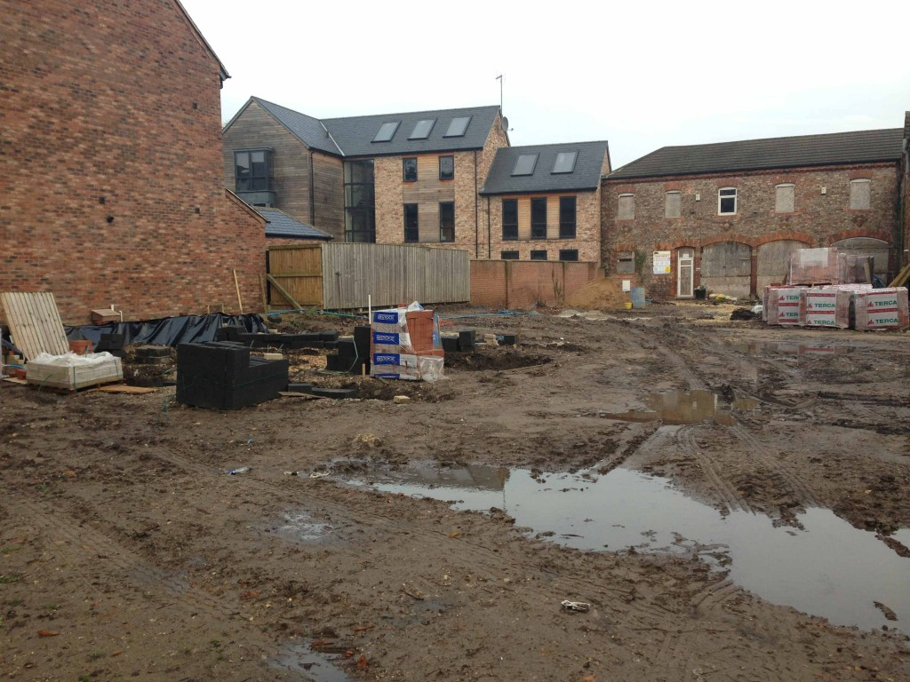 Penley Grove Street | The site has been cleared