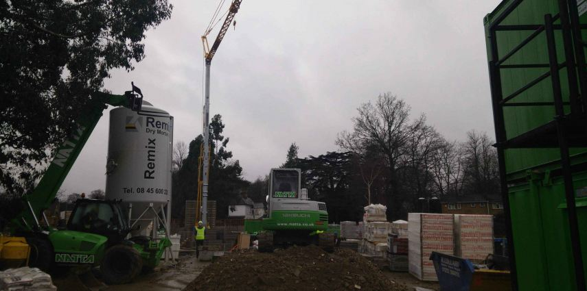 PROJECT MANAGEMENT: Latest images from on site at Bracknell Care Home